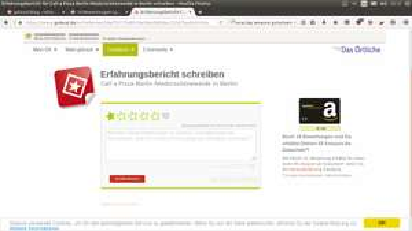 Amazon Gutschein kostenlos!!! 5€ für 10 Bewertungen - Auch 2x5 oder auch 2x 10 € je Haushalt möglich