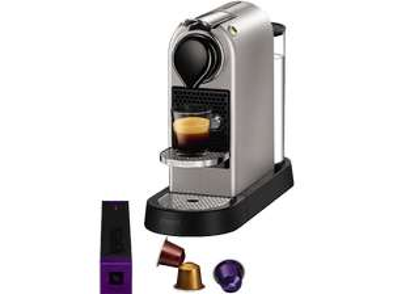 Ein paar günstige Nespresso-Maschinen bei Media Markt, z.B. Krups Nespresso New CitiZ + 40€ Guthaben für den Nespresso-Club für 79€