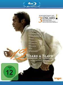 [Amazon] 12 Years A Slave [Blu-ray] neuwertig