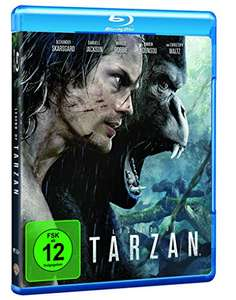 [Media Markt + amazon] Legend of Tarzan [Blu Ray] mit Dolby Atmos für € 8,90 / 3D € 14,90