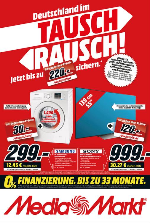 LOKAL MM Eschweiler ALT gegen Neu Sony KD-55XD8505 + 120 EUR