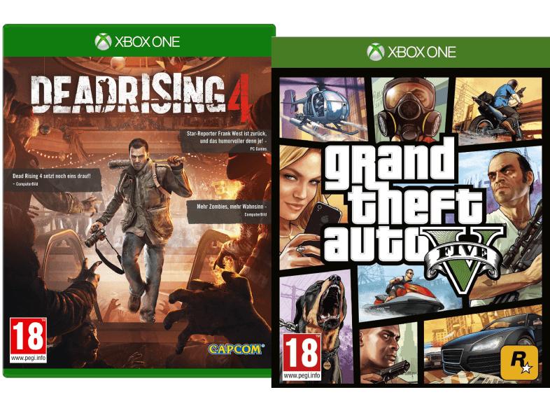 Dead Rising 4 + GTA V (Xbox One) für 54,50€ inkl. Versand nach DE [Saturn.at]