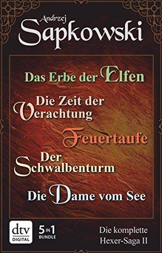 [Amazon Kindle] Die Hexer-Saga I+II (Acht Witcher eBooks) für 24,99€ (teilweise Freebie; PVG gedruckt: 113,30€)