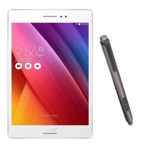 [NBB] Asus ZenPad S 8.0 weiß 32GB Tablet + Stylus Pen, 8'' SUXGA IPS-Display, Intel Atom Quad-Core, 2GB RAM, 32GB Flash, Android 6.0