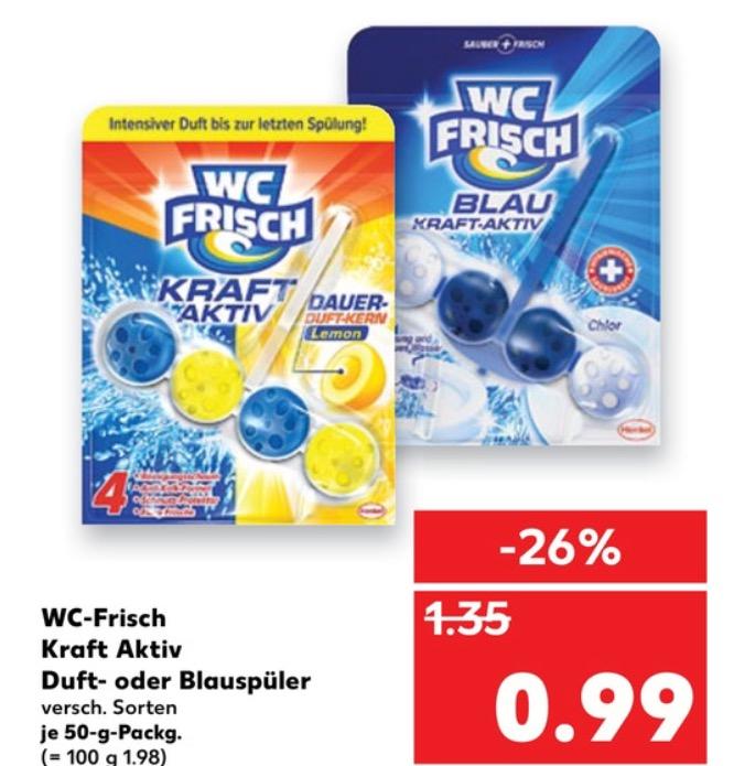[lokal Kaufland Kiel] WC-Frisch Kraft Aktiv