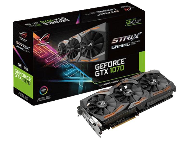 Heute ab 20 Uhr ASUS GeForce® GTX 1070 STRIX-GTX1070-8G-GAMING (90YV09N2-M0NA00) für 422€ plus Gutschein für kostenloses Spiel [mediamarkt.at]