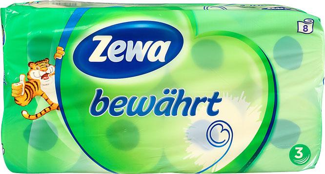 Kaufland Bundesweit ?  Zewa bewährt Toilettenpapier je 8 x 150 Blatt angebot plus GS