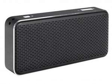 [top12.de] Xqisit xqs20 Bluetoothlautsprecher schwarz oder silber über 50% unter Idealo