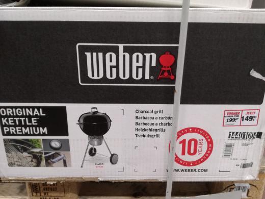 TOOM Berlin - Weber Original Kettle Premium 57 cm - Ausverkauf- möglich Lokal
