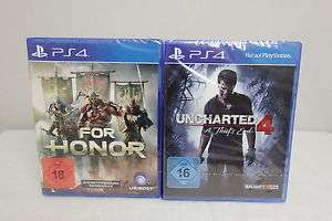 PS4 - For Honor & Uncharted 4
