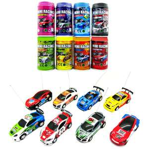 [Yoshop]  1 : 63 Coke Can Mini RC Radio Remote Control Micro Racing Car