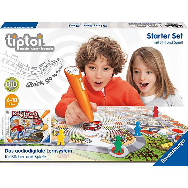 TIPTOI Starter-Set: Die Englisch-Detektive - INKL. STIFT !!! für 29,99 € + 2,95 € Versand