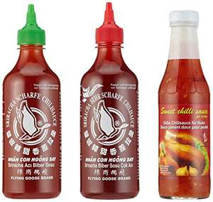 [Amazon] Flying Goose Sriracha Chillisaucen in Geschenkbox für 5,99€