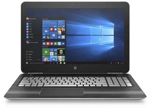 "HP Pavilion 15"" 15-bc001ng (Intel Core i7 6700HQ mit 4x2.6GHz bis 3.5GHz, 8 GB RAM, 128 GB SSD, 1 TB HDD, NVIDIA GeForce 960M, Windows 10 64 Home) für 799€ im HP Education Store"