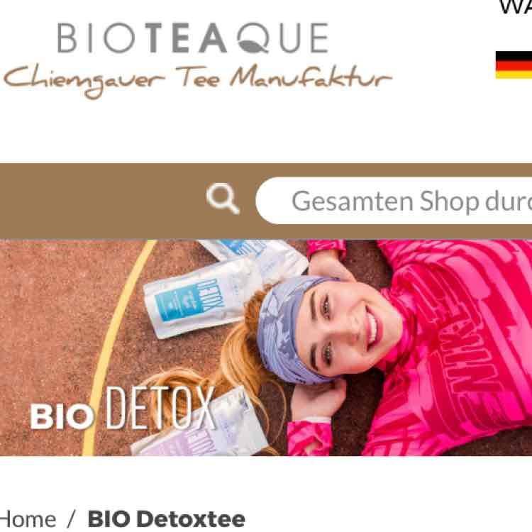 25% bei Bio Detoxtee auf alles
