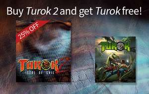 [Steam] Turok 1+2 (@HumbleBundle)