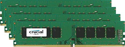 [amazon.es] Crucial Arbeitsspeicher - 16 GB (4 x 4 GB) - DDR4 SDRAM - 2400 MHz DDR4-2400/PC4-19200 - 1,20 V - Nicht-ECC - Ungepuffert - CL17 - 288-Pin - DIMM  für 84€ statt 130€