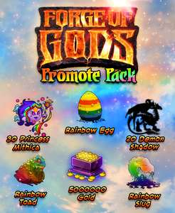 [Steam] Forge of Gods: Promo Pack DLC