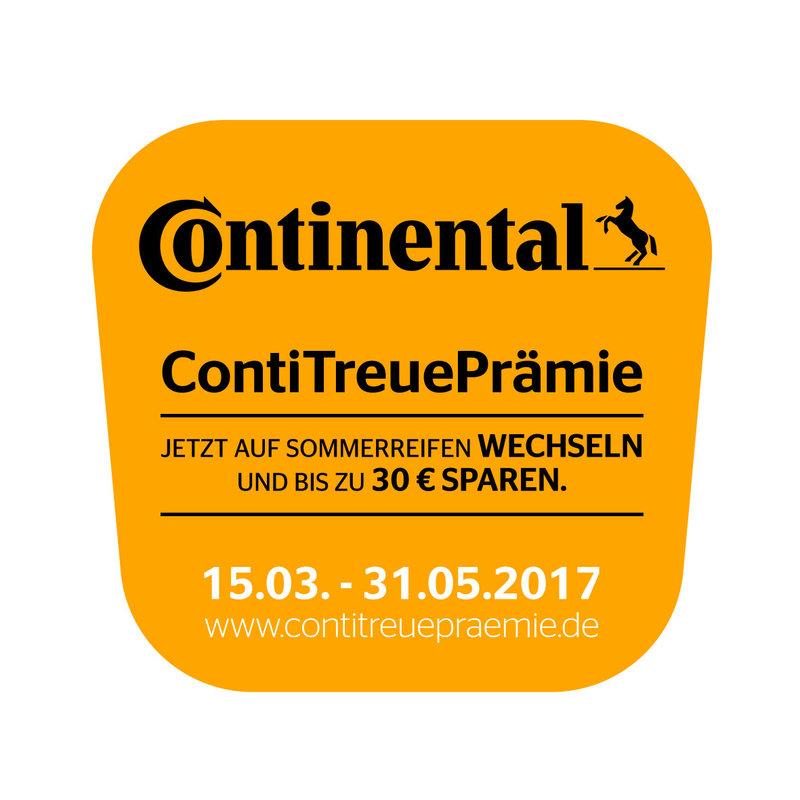 Continental Wechselbonus 30€ Cashback