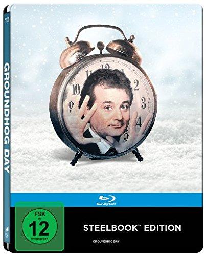 Groundhog Day - Und täglich grüsst das Murmeltier (1993) (Blu-ray, Limited Edition, Steelbook) für 12,49€ (Cede)
