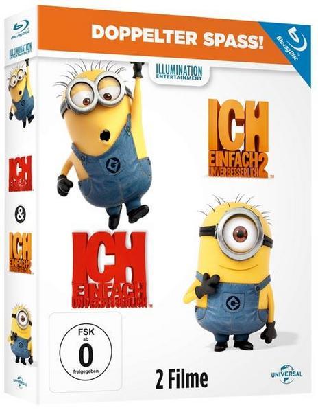 Ich - Einfach unverbesserlich 1&2 (Blu Ray) Thalia.de