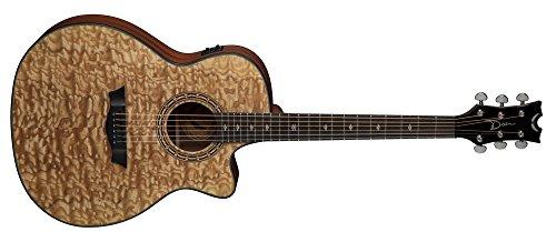 @amazon.de: Dean Guitars Exotica Quilt Ash A/E gloss natur Westerngitarre