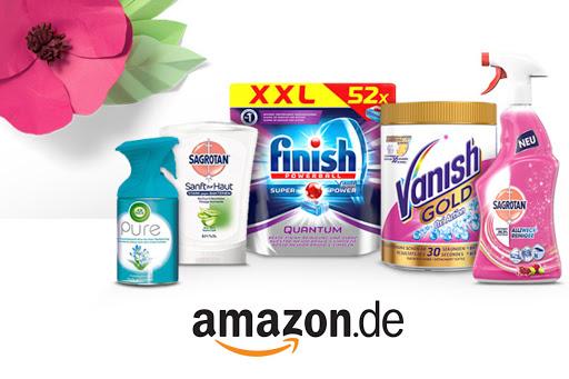 6€ Sofortrabatt auf Aktionsprodukte für den Frühjahrsputz [Amazon.de]