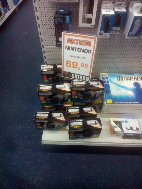 (lokal? Saturn Nürnberg) Nintendo NES Classic