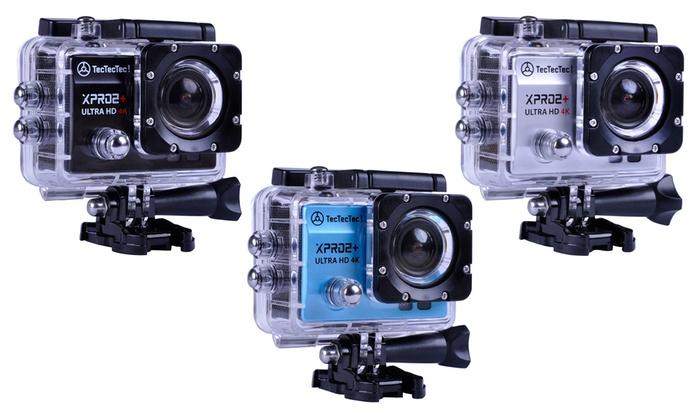 TecTecTec Sportkamera XPRO2+ in der Farbe der Wahl inkl. Versand