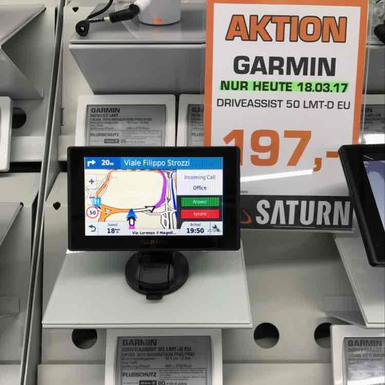 [Lokal Hannover] Garmin DriveAssist 50 bei Saturn