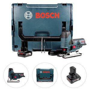 [ebay] Bosch GST 12V-70 Akku-Stichsäge inkl. L-Boxx, Einlage, 4Ah Akku, Sägeblätter, Absauger