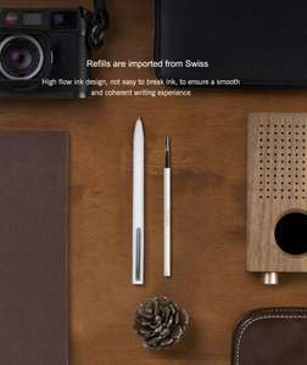 [Gearbest App] Original Xiaomi Mijia 0.5mm Ink Pen Refill 3PCS - WHITE für nur 2,34€