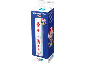 [Saturn, eBay, Amazon] Nintendo Wii / Wii U Remote Plus Toad Edition für 29,99€