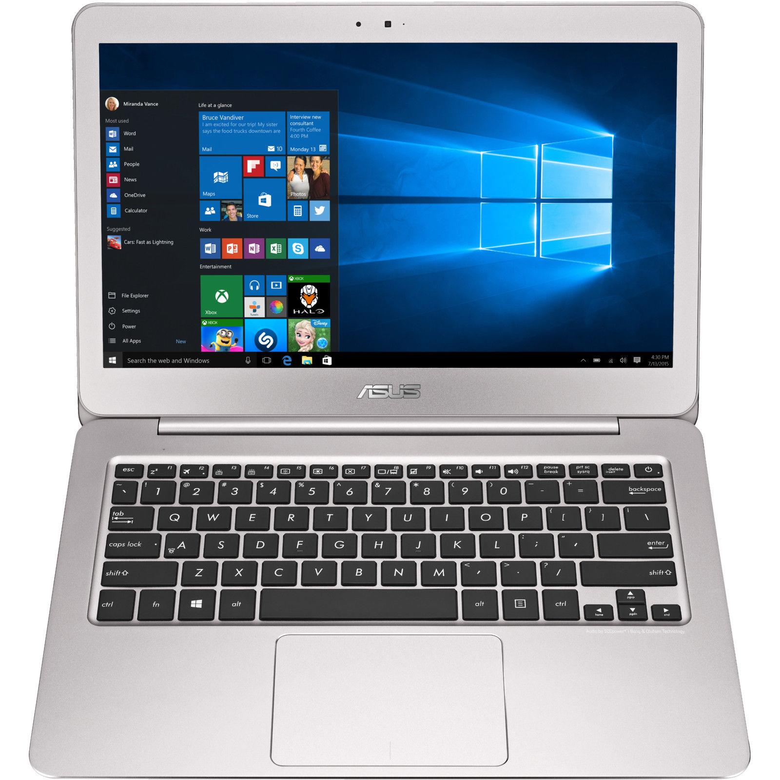"""Asus Zenbook UX305UA-FC086T, 13,3"""" FHD entspiegelt,  i7-6500U, 8GB RAM, 256GB SSD bei Mediamarkt @ ebay für 829 €"""