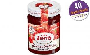 [Netto MD +  EDEKA] Zentis Sonnen Früchte - 0,40€ Gewinn durch Deutschlandcardpunkte (und GZG Aktion)