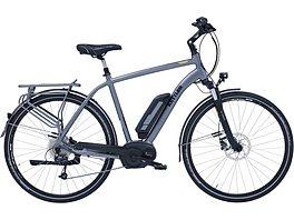 statt 2399€ Kettler E-Bike, Mittelmotor 36V/250W, 26 Zoll, 28 Zoll, 8 Gang-Shimano Nexus Nabensch, »Traveller E Gold FL