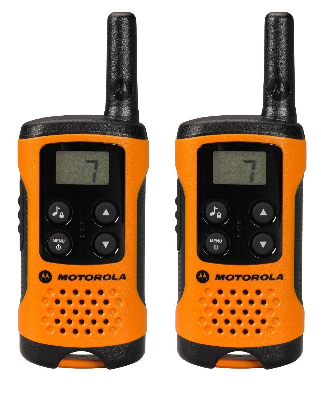 [Amazon Prime] Motorola TLKR T41 PMR Funkgerät mit LC-Display orange, 4km Reichweite