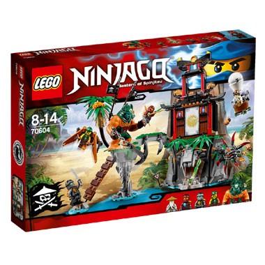 Lego Ninjago 70604 Schwarze Witwen-Insel für 31,98€ versandkostenfrei bei [Intertoys] + Lego Ninjago 70734 - Meister Wu´s Drache für 29,98€