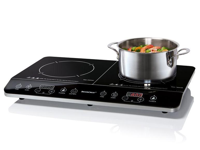 SILVERCREST® Doppel - Kochplatte Induktion SDI 3500 A1 für 72,99 € bei Lidl