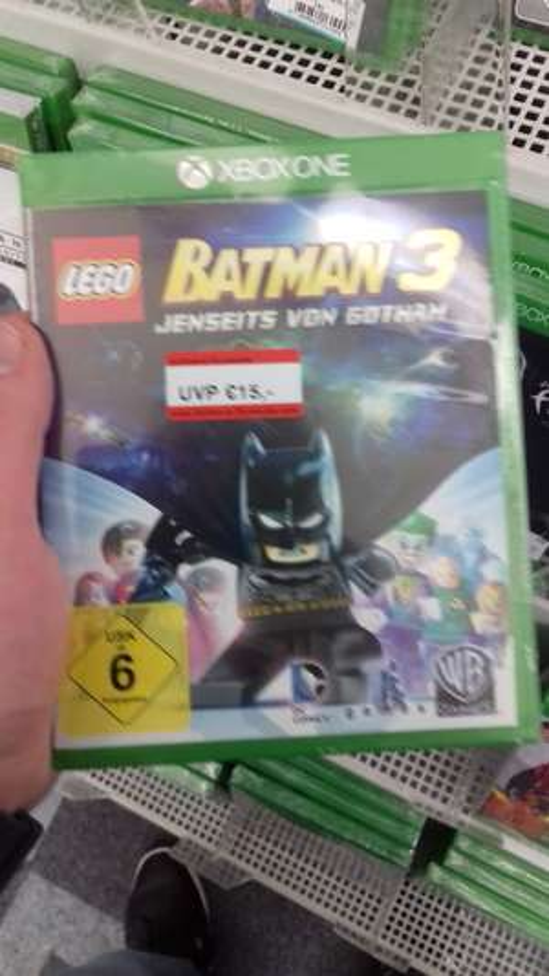 Lego Batman und Mordors Schatten je 15 Euro Lokal in Media Markt  Wilhelmshaven