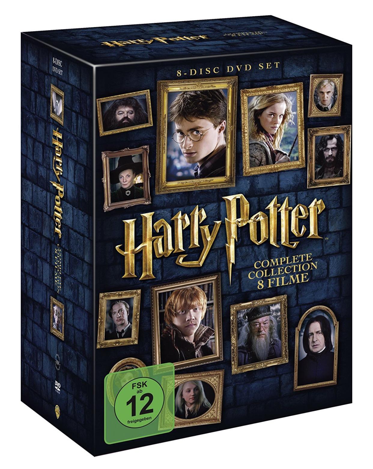 Harry Potter DVD Set für 14,99 [Real]
