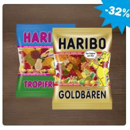 [Hit ab 20.03.] Haribo Fruchtgummi versch. Sorten 150-220g für 0,65€