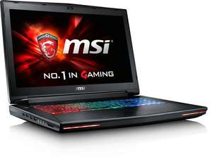 MSI GT72S 6QE (17,3'' FHD IPS matt G-Sync, i7-6820HK, 16GB RAM, 2x 256GB SSD NVMe + 1TB HDD, Geforce 980M mit 8GB, Bluray-Brenner, WLAN ac + Gb LAN, bel. Tastatur, Win 10) + Rucksack für 1203,95€ [ZackZack]
