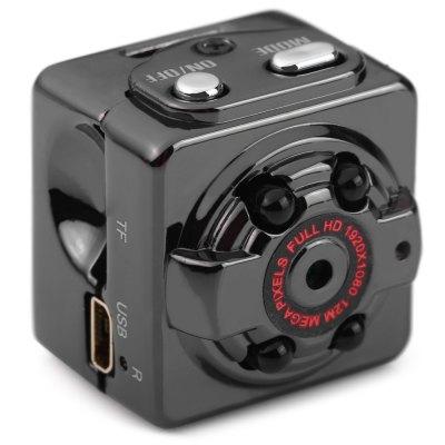 [Gearbest] SQ8 Mini-Kamera / SpyCam mit Otus-Chipsatz (ohne Erhitzung) (FHD = 1080p, microUSB, SD-Card-Reader) für 10,04€