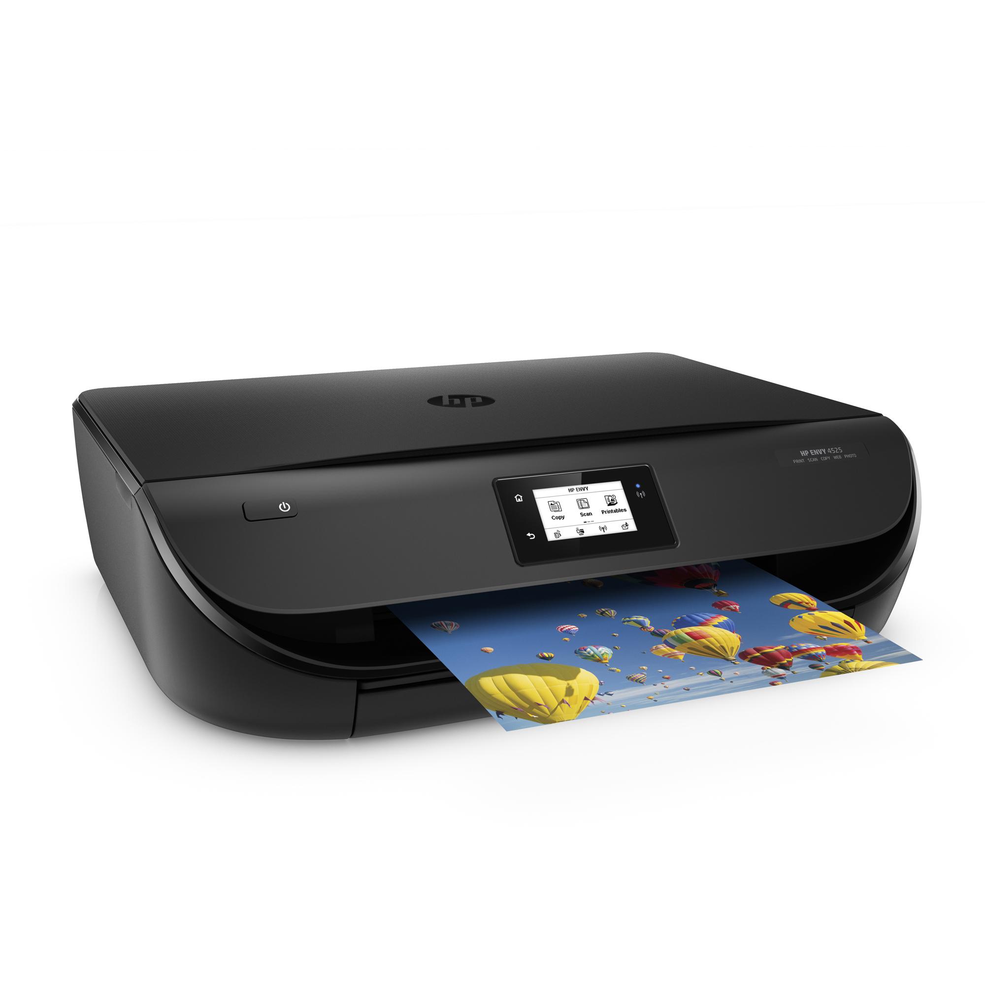 HP ENVY 4521 Tintenstrahl-Multifunktionsdrucker: Drucken, Scannen, Kopieren, drahtlos (auch mobiles Drucken) für 55€ @NBB.de