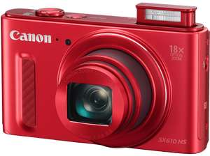 Canon PowerShot SX610 in rot