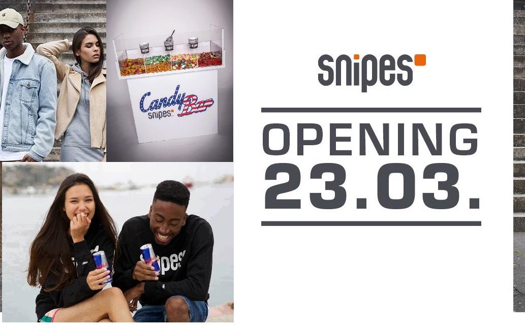 [Dresden] Gratis Redbull und Candybar bei Snipes Eröffnung