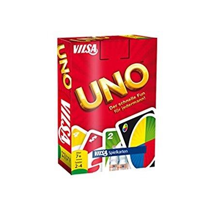 Gratis UNO - Kartenspiel beim Kauf von 2 VILSA-Produkten bei Amazon Pantry // UNO Spiel für 4,99 (PVG: 6,59€)