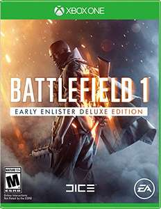 Battlefield 1 Early Enlister Deluxe Edition (Xbox One) für 37,98€ (Amazon.com Prime)