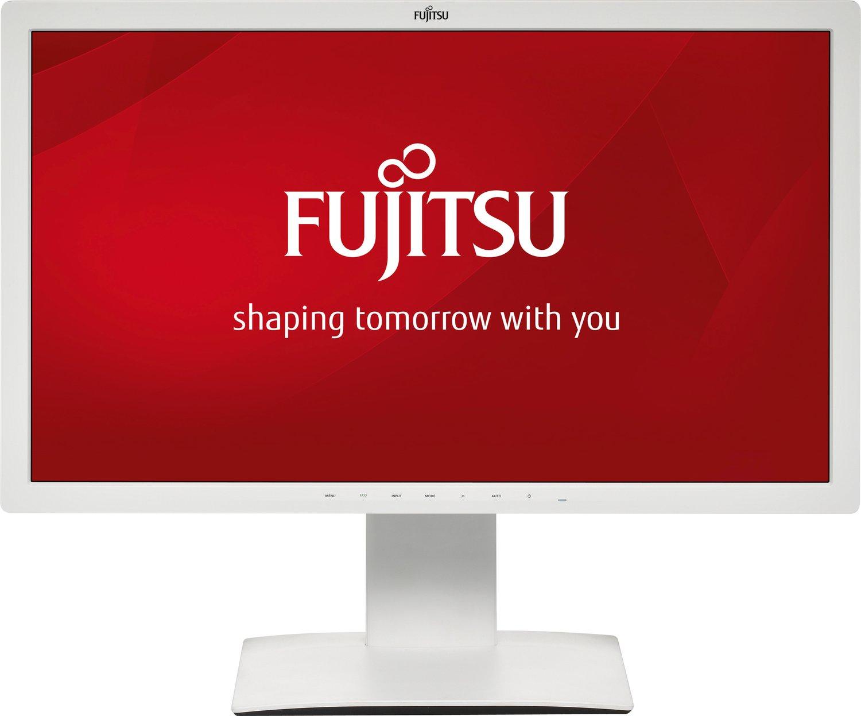 Fujitsu P27T-7 68,5 cm (27 Zoll) LED-Monitor (VGA, HDMI, DVI, 5ms Reaktionszeit, höhenverstellbar) - grau